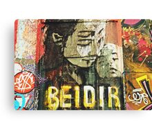 Bei dir (With you) Canvas Print