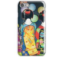 Group of Geishas iPhone Case/Skin