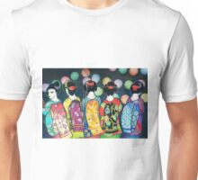 Group of Geishas Unisex T-Shirt