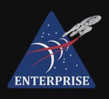 Star Trek NASA Patch by DarkHorseDesign