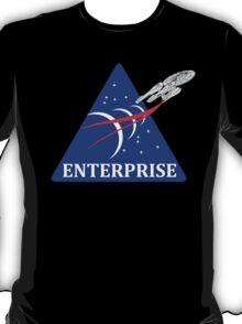 USS Enterprise Exploration Mission Patch T-Shirt
