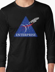 Star Trek NASA Patch Long Sleeve T-Shirt