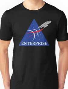 Star Trek NASA Patch Unisex T-Shirt