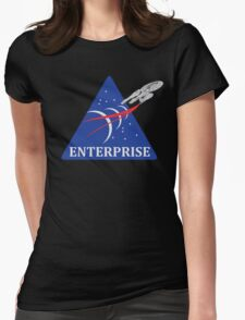 Star Trek NASA Patch Womens Fitted T-Shirt