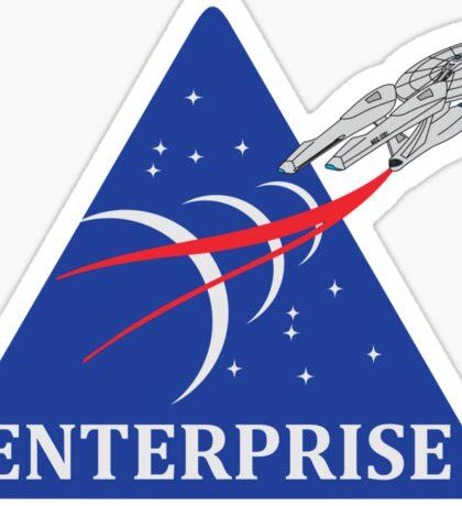 Star Trek NASA Patch Sticker