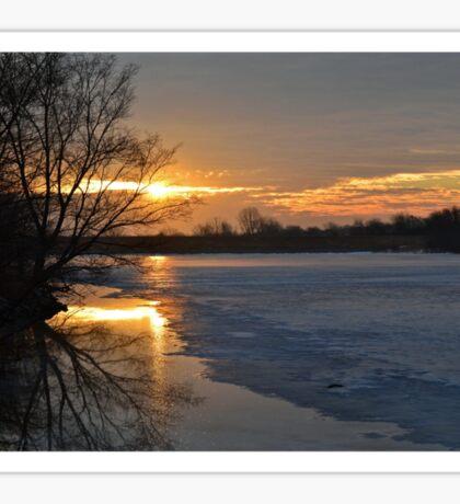Icy Dawn Sticker