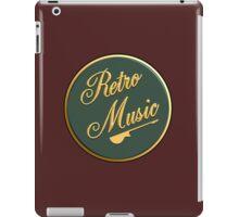 Retro Music  Sign iPad Case/Skin