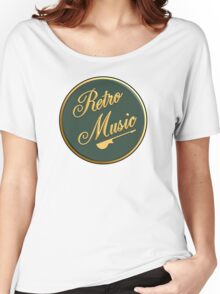 Retro Music  Sign Women's Relaxed Fit T-Shirt