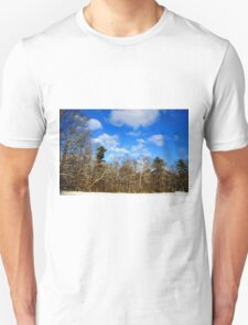 Reaching for the clouds Unisex T-Shirt