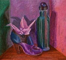 Still Life in Oil Pastel by Sapphira14