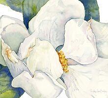 Magnolia Full Bloom by cindyloubailey