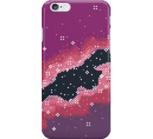 Pink Rift Galaxy (8bit) iPhone Case/Skin