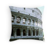 Colosseum Sideview, Rome, Italy Throw Pillow