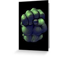 Hulk Fist Greeting Card