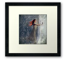 A Window Wasted Framed Print