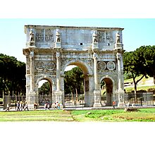 The Arch Of Constantine, Rome, Italy Photographic Print