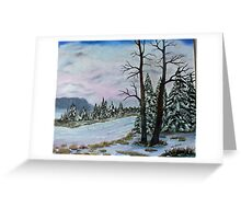 Winter Serenity  SOLD Greeting Card