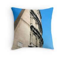 Colosseum Wall, Rome, Italy Throw Pillow