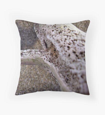 dried driftwood Throw Pillow