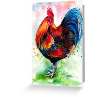 Mr. Rooster Greeting Card