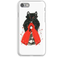 Who's Afraid of the Big Bad Wolf? iPhone Case/Skin