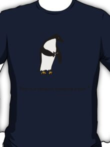 Penguin with a Gun T-Shirt