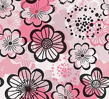 Pattern flowered by olgart