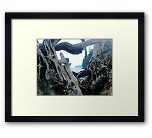 Artistry of the Sea Framed Print