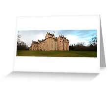 Fyvie Castle Greeting Card