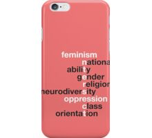 Feminism: Intersect iPhone Case/Skin