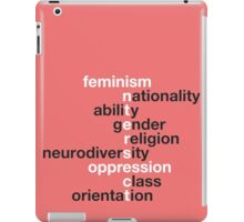 Feminism: Intersect iPad Case/Skin