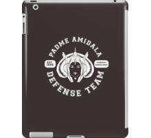 Padme Amidala Defense Team (white text) iPad Case/Skin