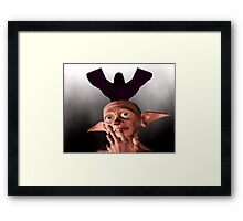 look out behind you! Framed Print