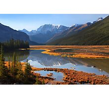 Sunwapta River, The Icefields Parkway, Alberta, Canada. Photographic Print