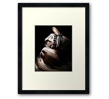 The Warrior of Light Framed Print