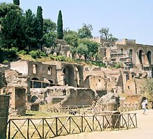 Roman Forum, Rome, Italy by hojphotography