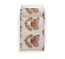 A Ruptured Time Duvet Cover