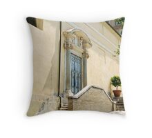 Doorway in Roman Forum, Rome, Italy Throw Pillow