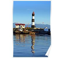 Lighthouse Reflected  Poster