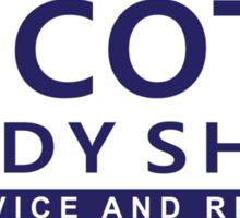 Keith Scott Body Shop Sticker