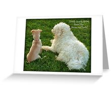 Family Security System Greeting Card