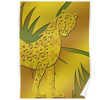 Gepard - Cheetah Poster