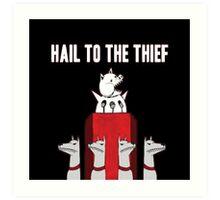 Hail to the Thief Art Print