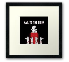 Hail to the Thief Framed Print