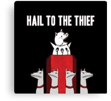 Hail to the Thief Canvas Print
