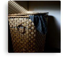 Washing Basket Canvas Print
