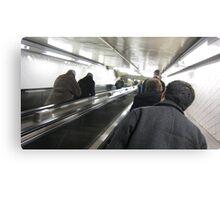 subway stair Canvas Print
