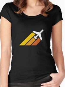 Jetsetter Women's Fitted Scoop T-Shirt