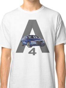 Audi A4 Pen and Ink Sketch 2 Classic T-Shirt