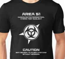 Area 51 Human/Extraterrestrial Hybrid Unisex T-Shirt